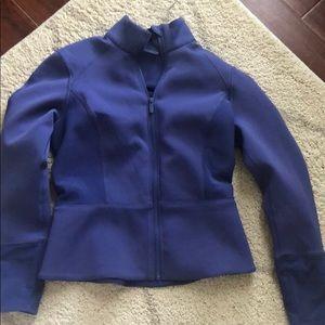 Lululemon Blue Bomber Jacket